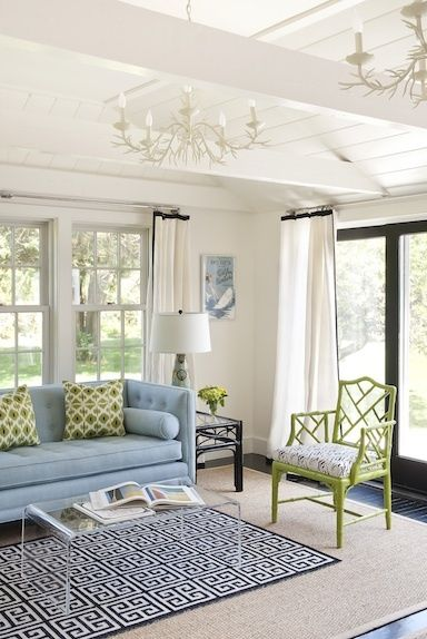 Boston Based Interior Designer, Annsley McAleers Style Reflects Her  Southern Roots And Current Home