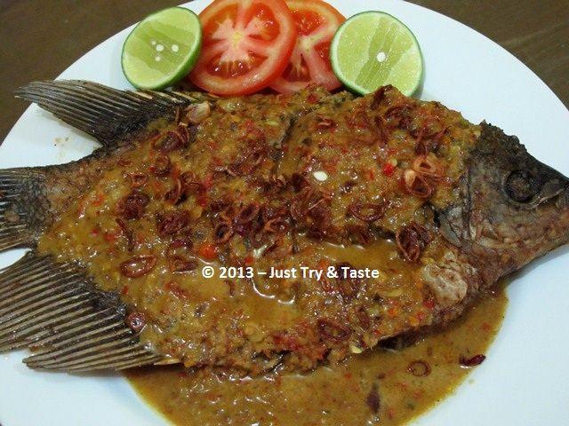 Resep Pecak Ikan Gurame Makanan Dan Minuman Memasak Resep Makanan