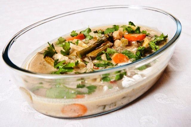 Thai Green Curry With Coconut & Oyster Sauce // Thai zöld curry kókusztejjel, osztrigaszósszal / Éva Magazin