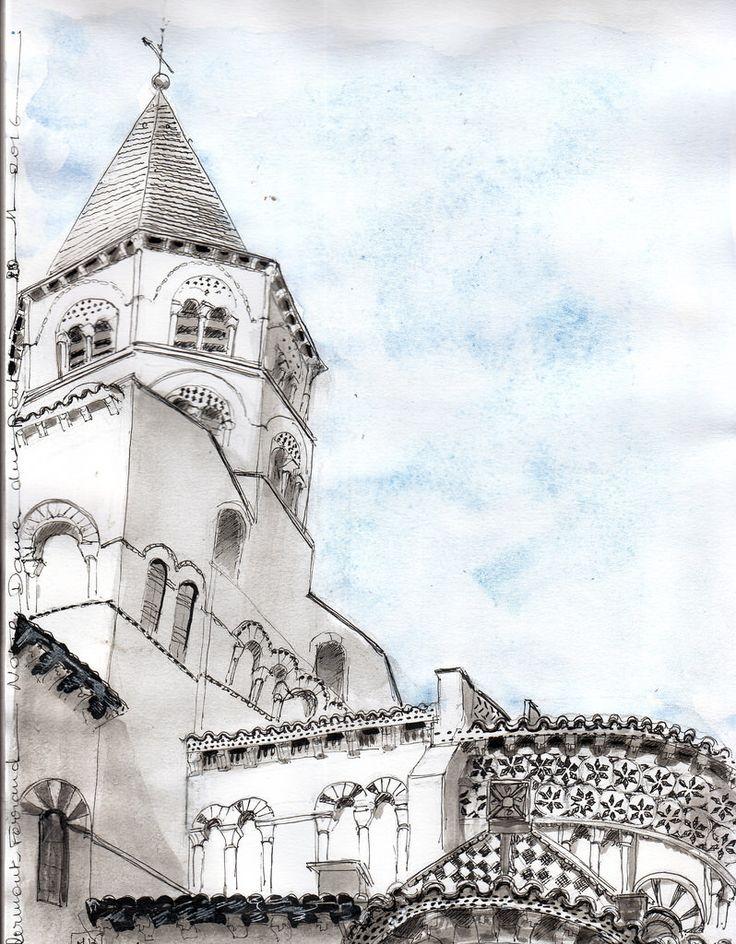 Clermont Ferrand : Notre dame du Port