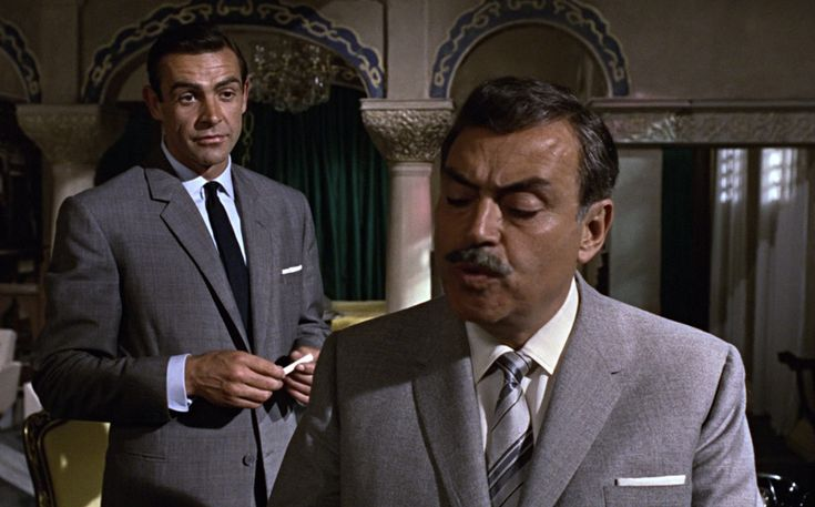 "* Sean Connery & Pedro Armendáriz * (""From Russia with Love"")."