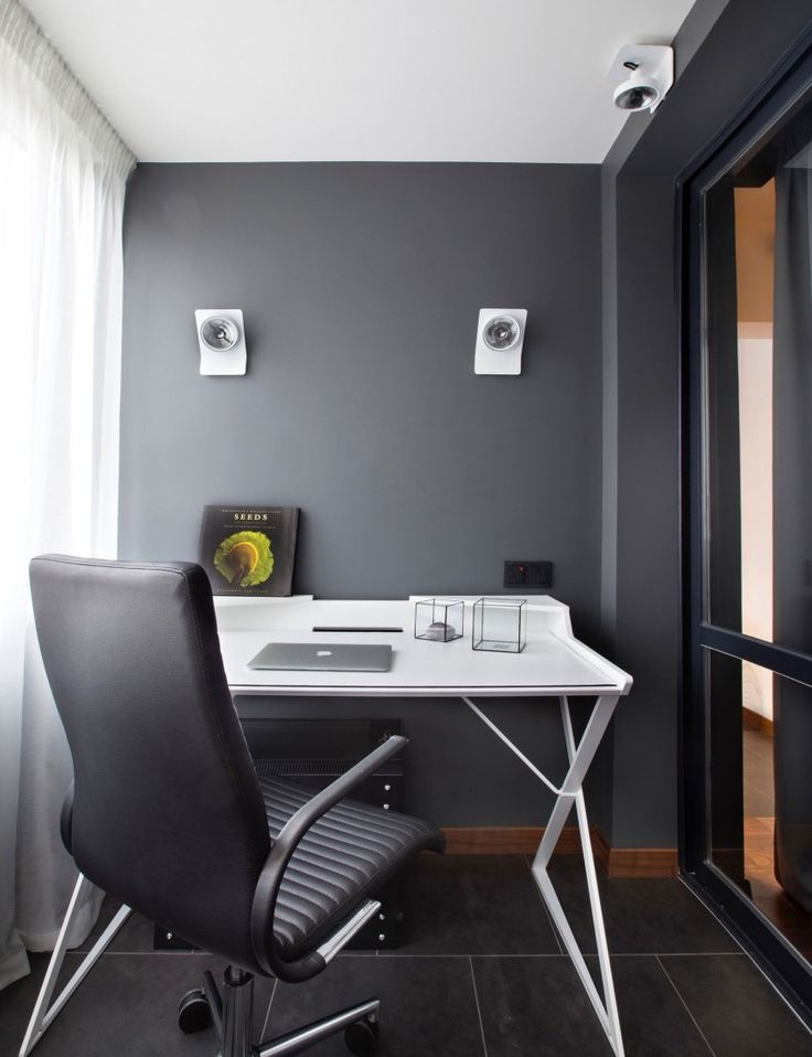 OFFICE. Apartment for a Young Man by Design3 (13)