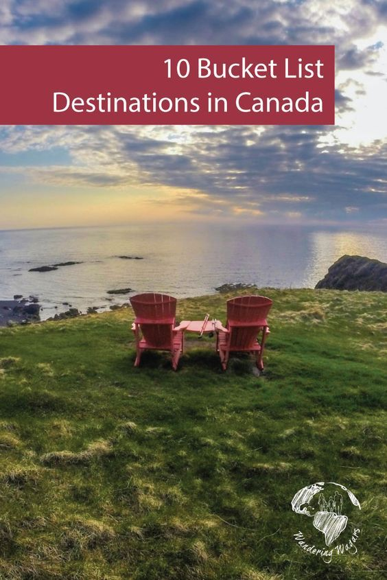 Canada is one of the most beautiful countries in the world. It's also one of the friendliest! Here are 10 Bucket List Destinations in Canada.
