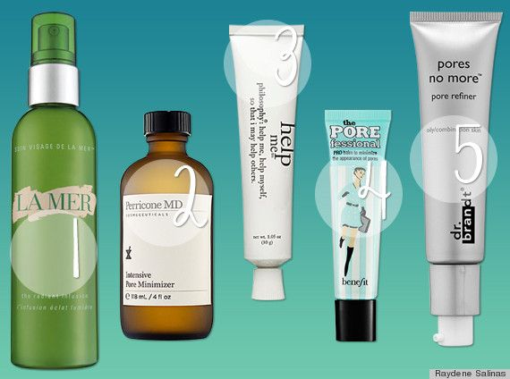 the best pore minimizers | huff post style