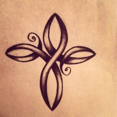beautiful infinity cross tattoo - Google Search