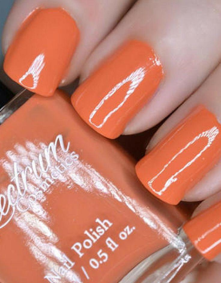 PUMPKIN Orange Creme Nail Polish