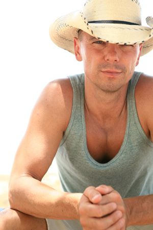 "Kenny Chesney, my favorite country singer. ""Little messed up but we're all"