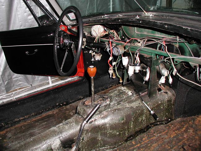 wiring harness dash routing mgb gt    mgb    dashboard removed mg pinterest articles and     mgb    dashboard removed mg pinterest articles and