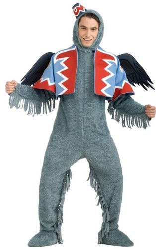 Wizard of Oz Deluxe Winged Monkey... NEW Rubies Halloween Wizard of Oz Deluxe Winged Monkey Adult Costume