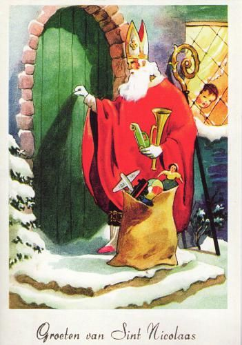 Sinterklaas!       Christmas in Holland