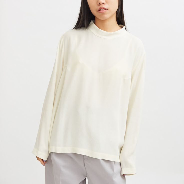Cosmos L/S Top - Chalk