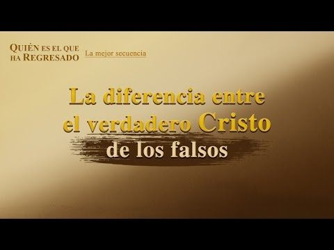 """""""Quién es el que ha regresado"""" (II) - La diferencia entre el verdadero Cristo de los falsos-#LaVidaEterna  #Biblia #Evangelio #Buscar #Testimonio #Dios"""