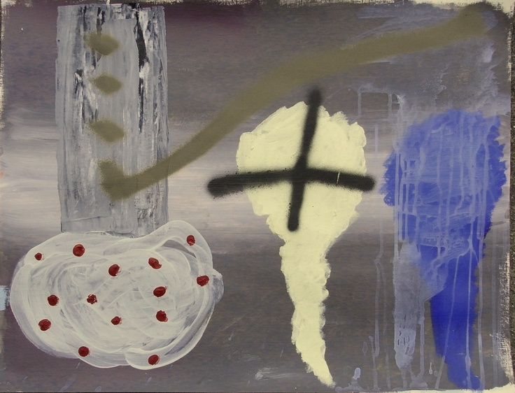 Jordi Gali - Panic 1 (2013) 65x50cm
