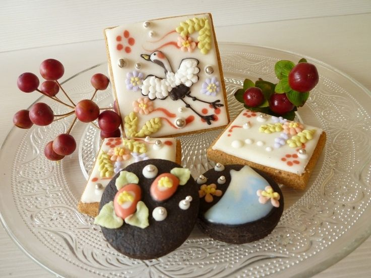 Japanese Decorated Cookies