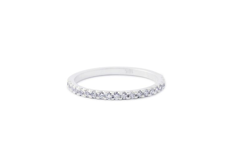 Cushla Whiting - EMILY 1.4 diamond wedding band. #cushlawhitingrings #weddingbands