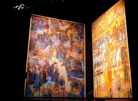 ArtNexus - News     War and Peace by Cándido Portinari  Grand Palais, Paris  08/July/2014