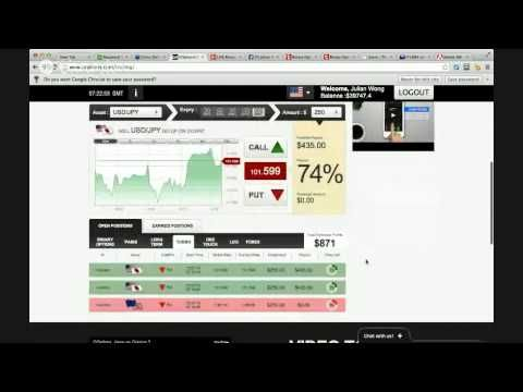 LIVE Binary Options Trading with Julian Wong of The Binary Lab