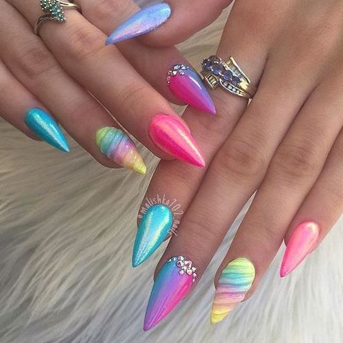 25 trending stiletto nail art ideas on pinterest pointy. Black Bedroom Furniture Sets. Home Design Ideas