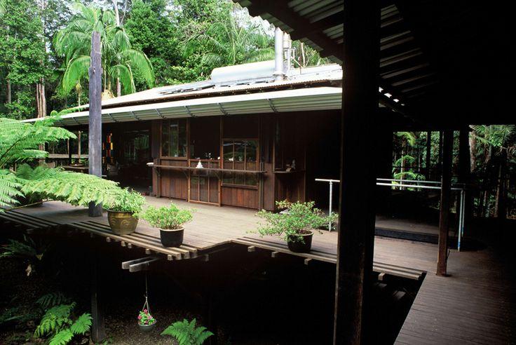 Richard Leplastrier - Rainforest House, Mapleton, Queensland 1988-91