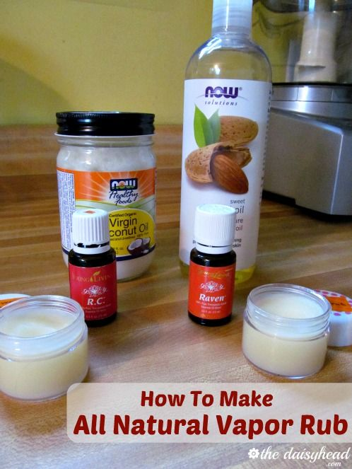 How To Make All Natural Vapor Rub {2 Variations} ~ An all natural vapor rub made with Young Living #essential oils that has the same warming, congestion breaking, and chest clearing benefits as the trusted salve I grew up with.
