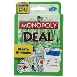 Review This!: Reviewing Monopoly Deal - The Playing Card Version of the Classic Monopoly Board Game