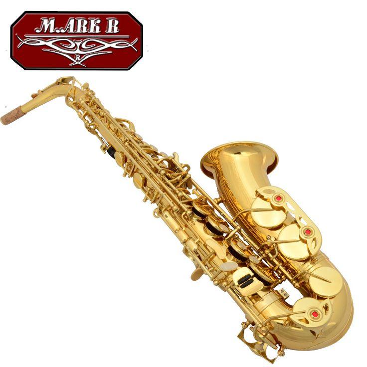 M for ar kr musical instrument tenor saxophone tube electrophoresis paint 1001