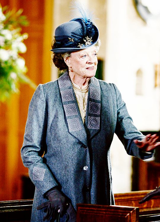 Maggie Smith as Violet Crawley - Downton Abbey, 6x03