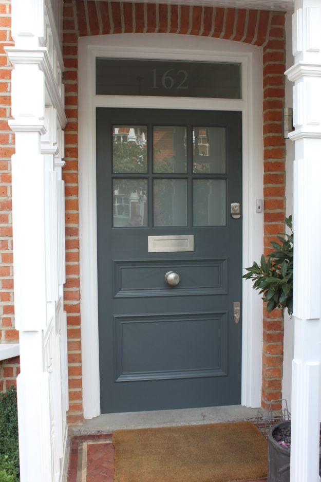 The Voysey Crossover front door, via Voysey and Jones.