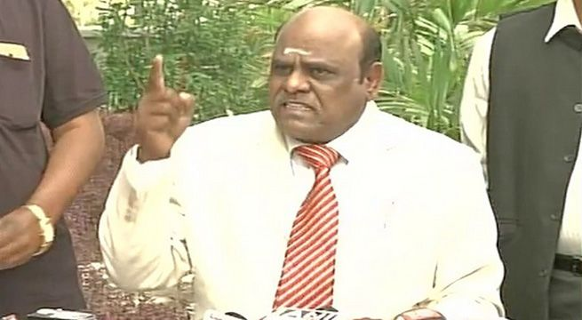 """Kolkata: Defiant Calcutta high court judge CS Karnan on Thursday asked the Chief Justice of India and six judges of the Supreme Court, who have issued contempt notice to him, to appear before him at his """"residential court"""" on April 28. Justice Karnan claimed that the seven judges of the bench..."""