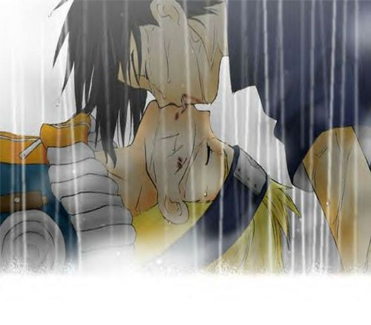 Pretty sure this didn't happen in either the anime or the manga, NaruSasu shippers!! Still, it's great work.