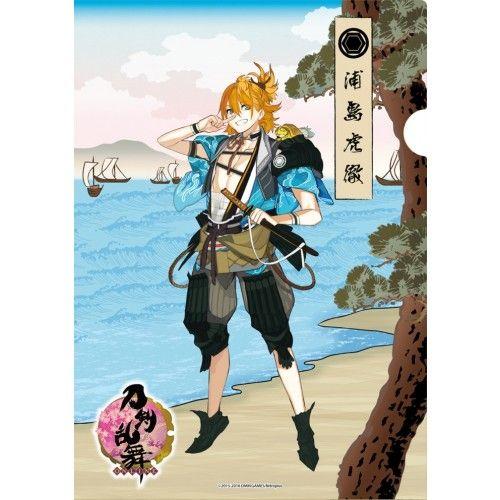 Swords Ranbu -ONLINE- Japanese paper - Urashima Kotetsu - Wakizashi