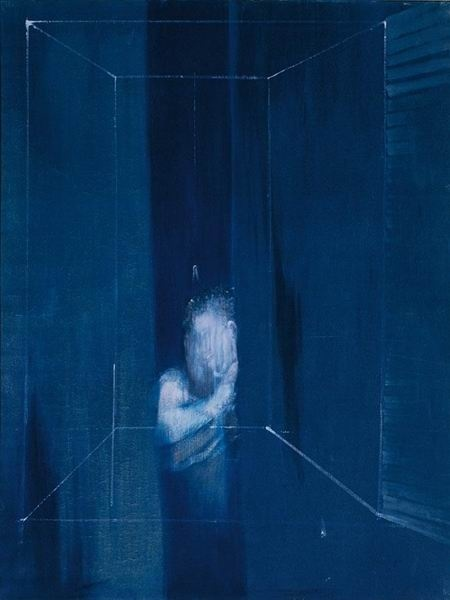 ONE OF MY MEN OF ART: Francis Bacon, Men in Blue series