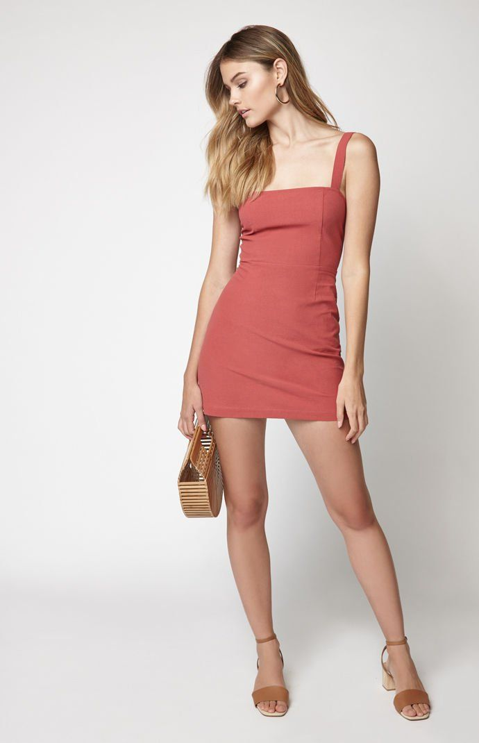bf2af3aec7 Linen Mini Dress