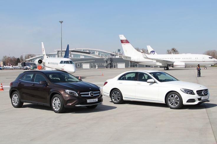 3 апреля в Киеве был презентован новый Mercedes GLA.