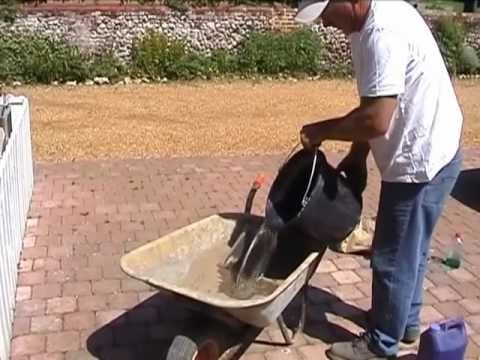 Point Master - Mixing Cement Mortar - YouTube