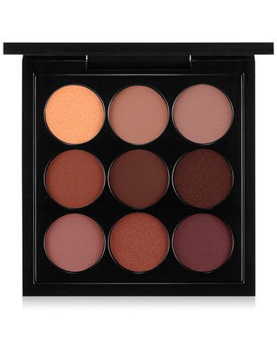 MAC Eye Shadow Palette, Burgundy x 9