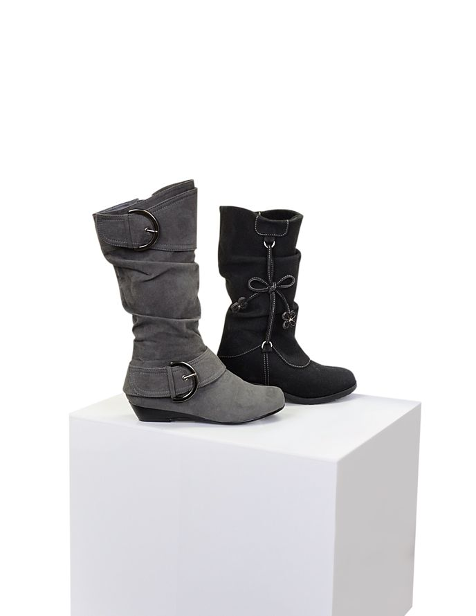 Fresh finds for the stylish girl, big or small... #BurkesOutlet #boots