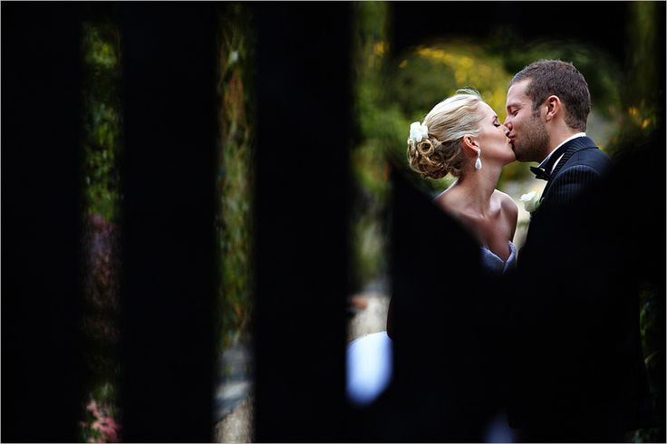 Photos through the Heart Gate at www.gaynespark.co.uk wedding venue. Photographer Duncan Kerridge