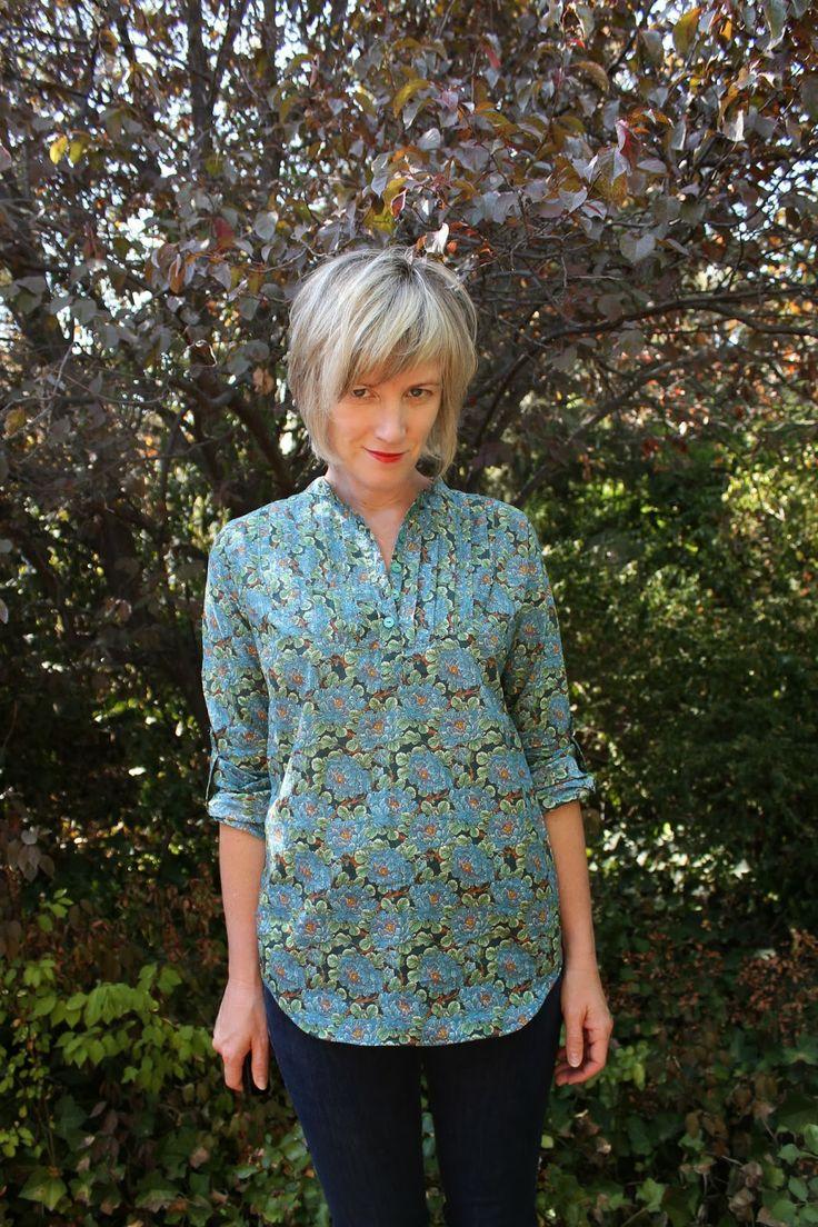 -carme blouse pattern