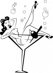Rockabilly Pin Up Vinyl Decal