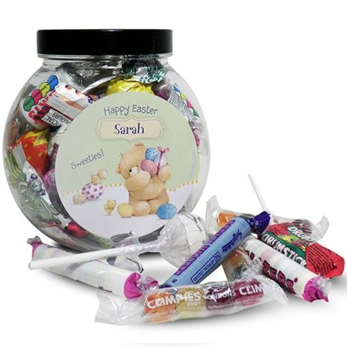 212 best easter gifts images on pinterest easter gift brand new personalised forever friends easter sweets jar from personalised gifts shop only 899 negle Image collections