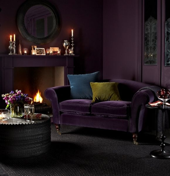 Best 25 Purple Sofa Ideas On Pinterest