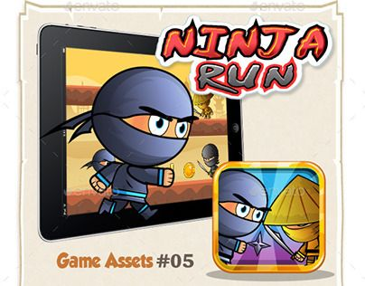 "Check out new work on my @Behance portfolio: ""Ninja Run Game Assets"" http://be.net/gallery/50867751/Ninja-Run-Game-Assets"