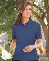 Red House Women's 100% Organic Cotton Pique Polo Shirt. RH32