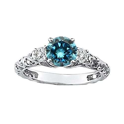 Blue Diamond Engagement Rings - The Perfect Gift Store