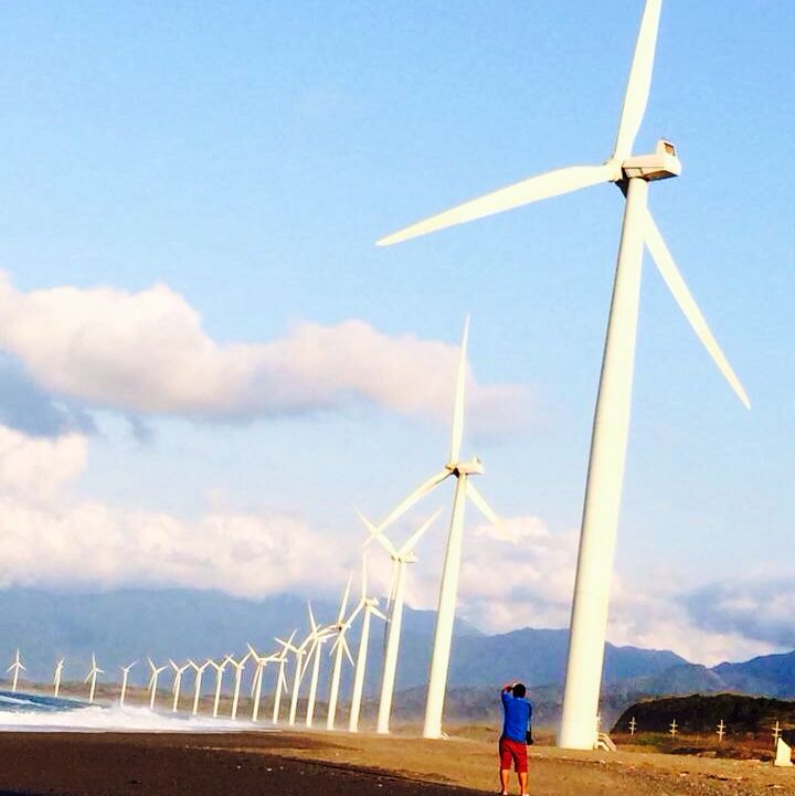 Bangui Windmills! Ilocos Norte, Phillipines