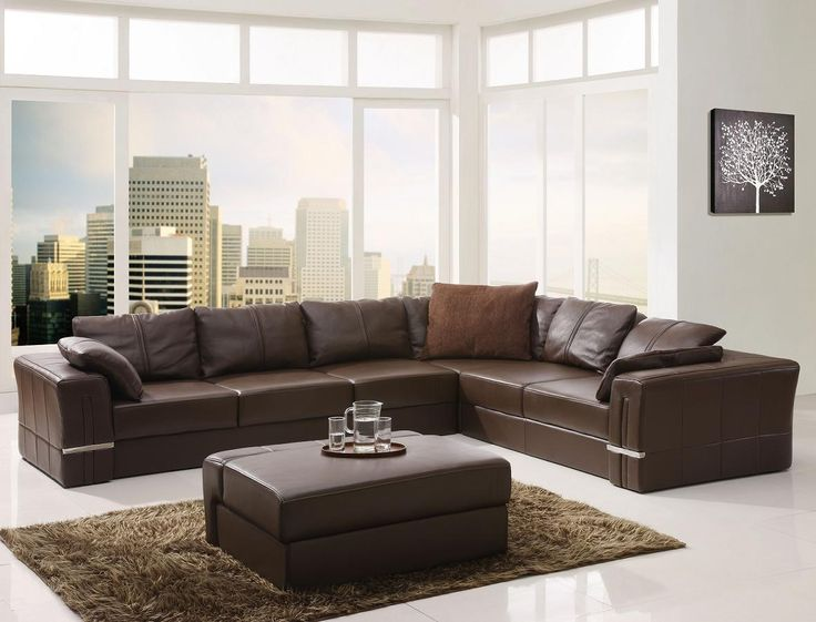 Living Room Design With Sectional leather living room ideas. best 10 brown sectional ideas on