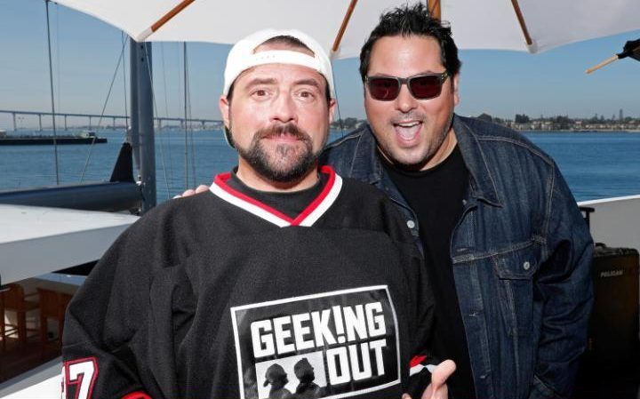 Kevin Smith with Greg Grunberg