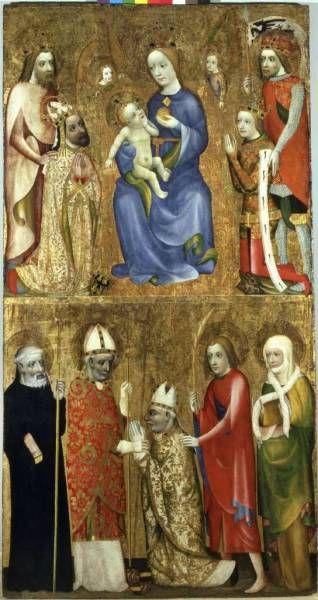 Mistr Theodorik - Votive painting from Jan Ocko  - before 1373