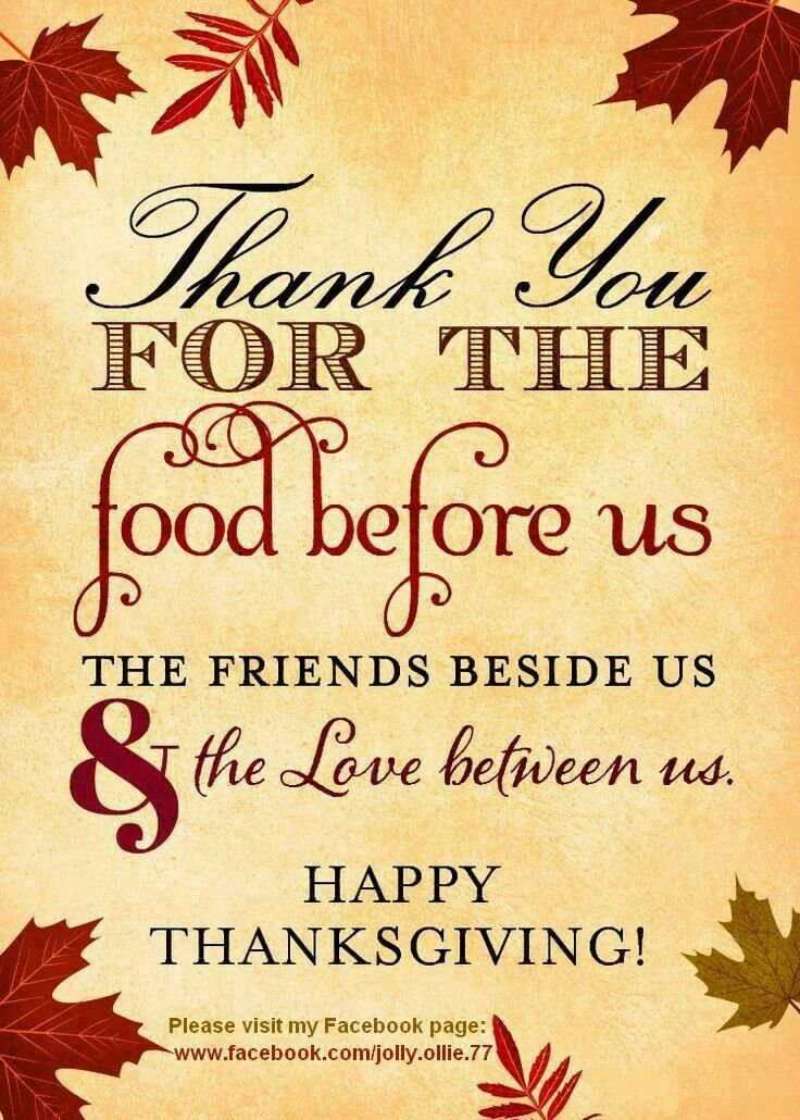 Happy Thanksgiving Day, America!